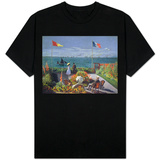 The Terrace at Sainte-Adresse, 1867 T-Shirt