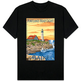 Portland Head Light - Portland, Maine Shirts