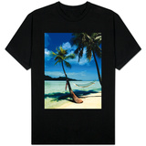 Hammock Hanging Seaside T-shirts