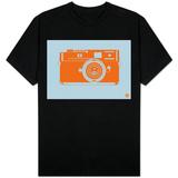 Orange Camera T-Shirt