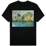 View of Le Havre, 1873 T-shirts