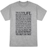 This Is Your Life (White) T-skjorter