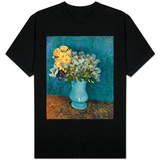 Vase of Lilacs, Daisies and Anemones, c.1887 T-shirts