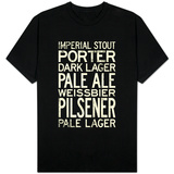 Beer Types and Styles T-Shirt