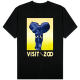 Visit the Zoo - Elephant Charging T-shirts