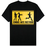 Zombies Hate Fast Food Camiseta