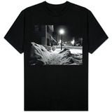 Snowy Night, Woodstock, Vermont, 1940 T-Shirt