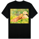 Young Girls on the River Bank T-shirts