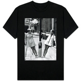 Model Twiggy Seen Here Modelling Mini Dress. July 1967 T-Shirt