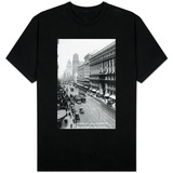 San Francisco, California - Emporium and Market Street Cable Cars T-Shirt