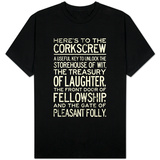 Here's To The Corkscrew Shirts