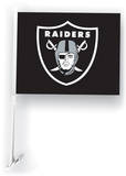 NFL Oakland Raiders Car Flag with Wall Brackett Flag