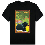 Bear in Forest - Lake Tahoe, California T-shirts