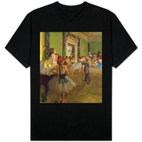 The Dancing Class, circa 1873-76 Shirt