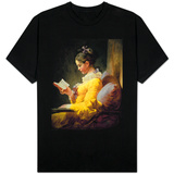 Young Girl Reading T-shirts