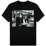 Bob Dylan Singer Songwriter with Joan Baez T-shirts