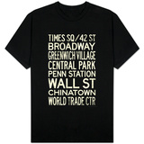 New York City Subway Style Vintage T-Shirt