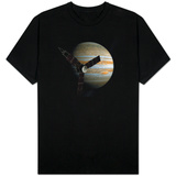 Juno Space Satellite Photograph T-Shirt