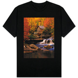 Waterfall by Mill T-shirts
