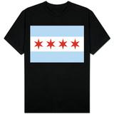 Chicago byflagg T-skjorter