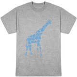 Blue Reticulated T-Shirt