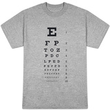 Eye Chart 10-Line Reference T-shirts
