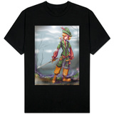 Peter Pan and Tinkerbell T-shirts