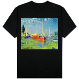 Argenteuil, circa 1872-5 T-shirts