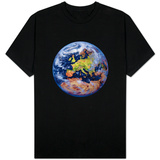 Earth from Space T-shirts
