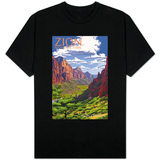 Zion National Park - Zion Canyon View T-Shirt