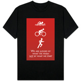 Triathlon Motivational Quote T-Shirt