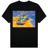 Fishing Boats on the Beach at Saintes-Maries-De-La-Mer T-Shirt
