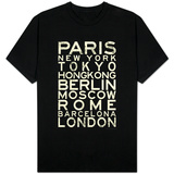 Cities of the World T-shirts