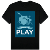 I Like to Play 4 T-shirts