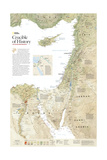 2008 Crucible of History, the Eastern Mediterranean Art by  National Geographic Maps