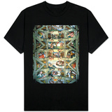 Sistine Chapel Ceiling and Lunettes, 1508-12 T-Shirt