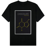 Chocolate (Theobromine) Molecule T-Shirt