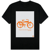 I Thought Of That While Riding My Bike Camisetas