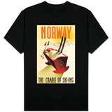 Norway - The Cradle of Skiing T-shirts