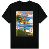 Charleston, South Carolina - Destination Signs Shirts
