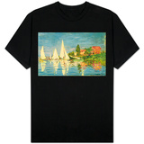 Regatta at Argenteuil T-Shirt
