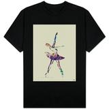 Ballerina Watercolor 4 T-shirts