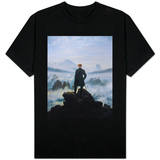 Caspar Friedrich Wanderer Above the Sea of Fog T-Shirts