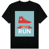 I Like to Run 1 Shirts