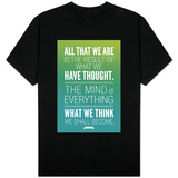 What We Think We Shall Become Buddha T-shirts