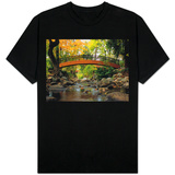 Footbridge over Stream T-shirts