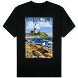 Montauk Point Lighthouse - New York T-Shirt