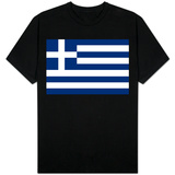 Greece National Flag Shirt