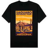 Saguaro National Park, Arizona T-shirts