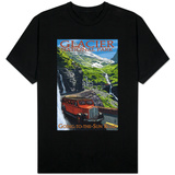 Glacier National Park - Going-To-The-Sun Road, c.2009 Shirt